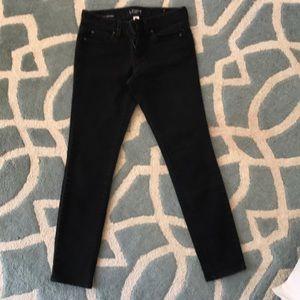 Ann Taylor loft black skinny jeans